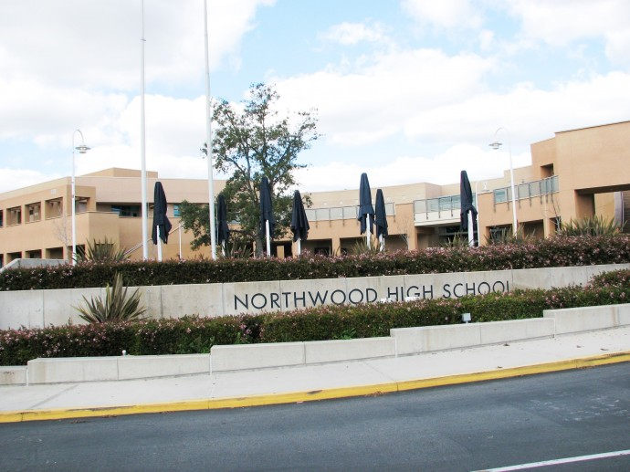 Northwood HS sign