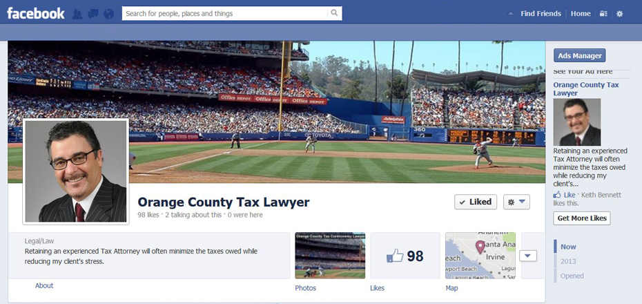 Facebook is a social media channel suitable for many law firms.