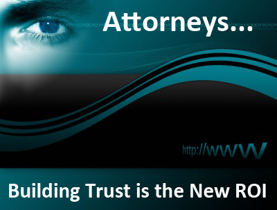 Lawyer and Client relationships are based on building trust.